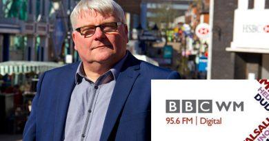 Wayne Edwards on BBC WM