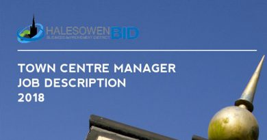 Vacancy: Halesowen Town Centre Manager