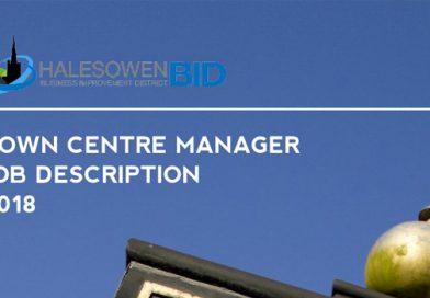 Vacancy: Halesowen Town Centre Manager
