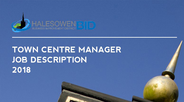 Halesowen Town Centre Manager - Job Description