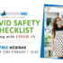COVID Safety – Preparing for the public